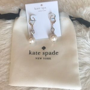 Kate Spade bright ideas pearl drop earrings